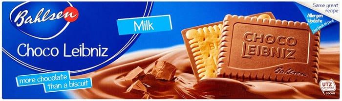 Best Ever Price! Bahlsen Choco Leibniz Milk Chocolate, 125g