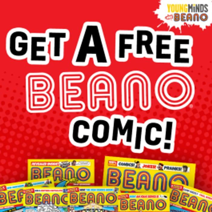 Free Beano Comic Worth £2.75