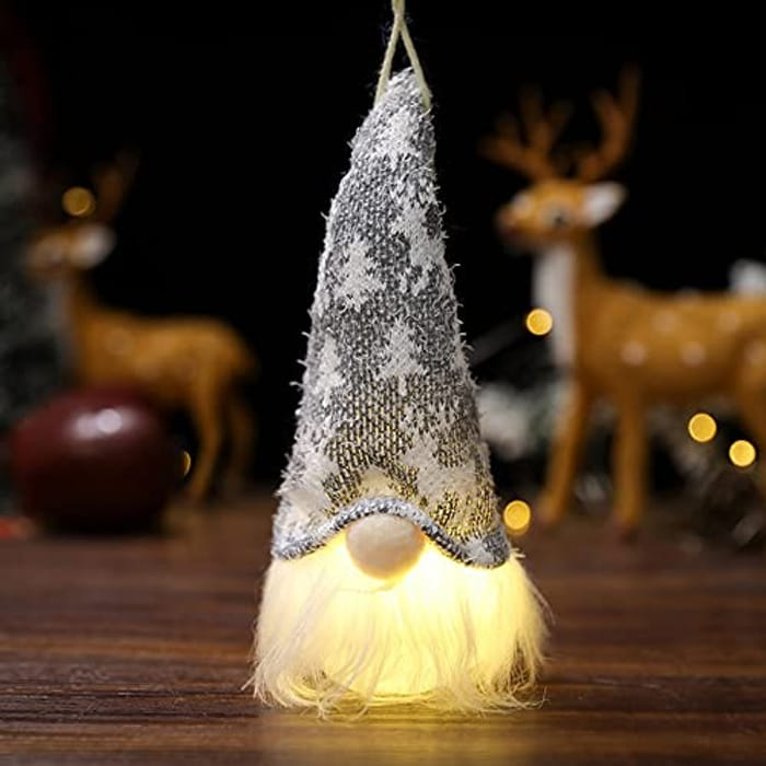 Glowing Christmas Gnomes - Only £3.89!