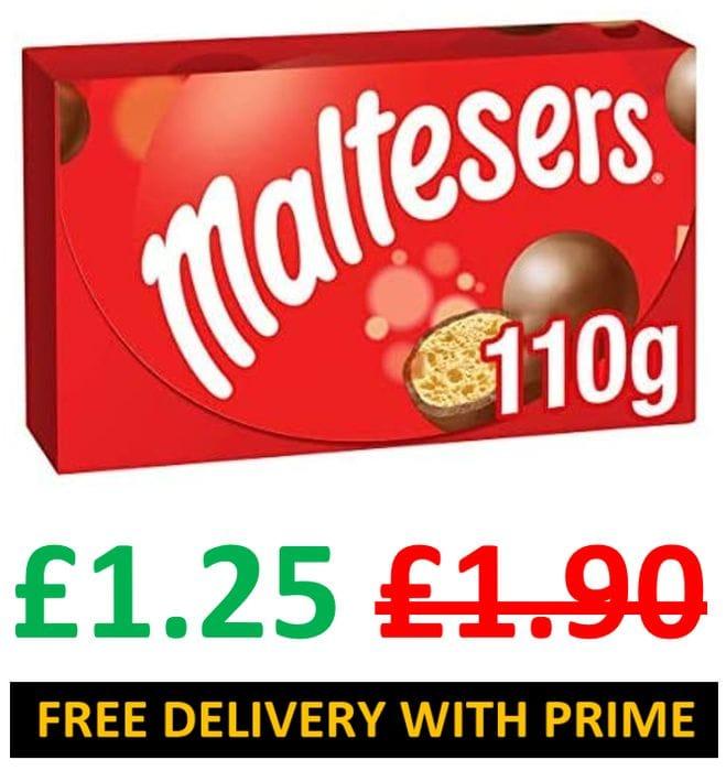 DO YOU LOVE MALTESERS? Maltesers Chocolate Gift Box, 110g