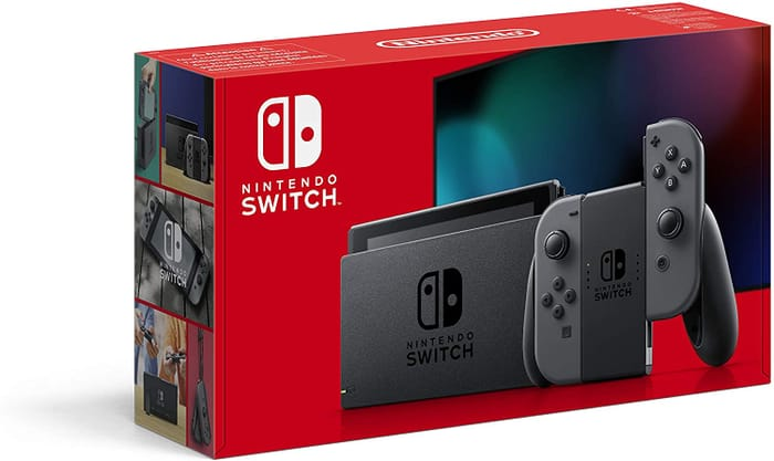 SAVE £24.89 - Nintendo Switch Console - Grey / NEON