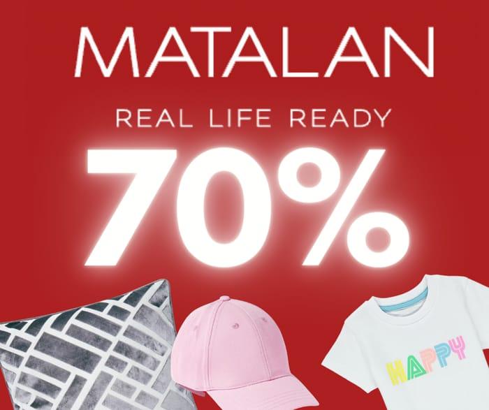 Last Chance! Save up to 70% at Matalan