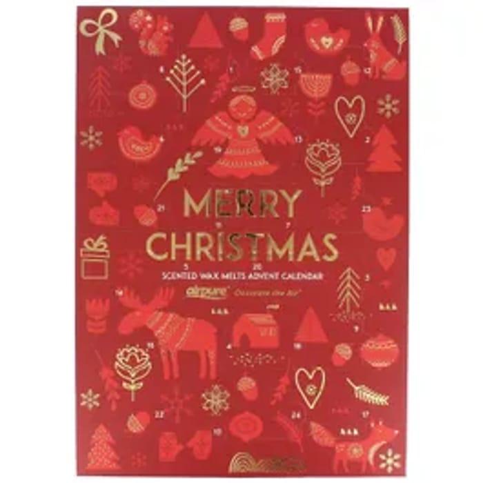 CHEAP! AirPure Wax Melts Gift Book 24 Days Of Christmas Advent Calendar