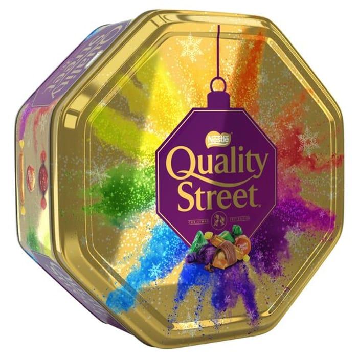 Quality Street Tin 800G Clubcard Price