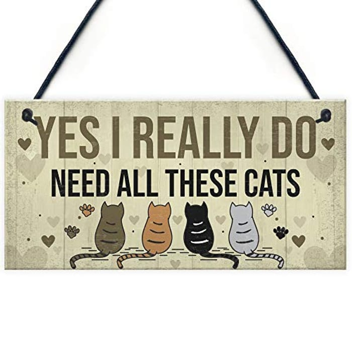 Yes I Really Do Need All These Cats ( Cute Stocking Filler )