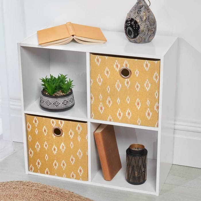 Storage Cubes 2pk - Ochre