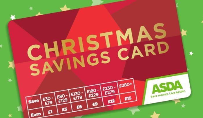 ASDA Christmas Savings Bonus Card - Get Up To 5% Extra Spend Online & In Store