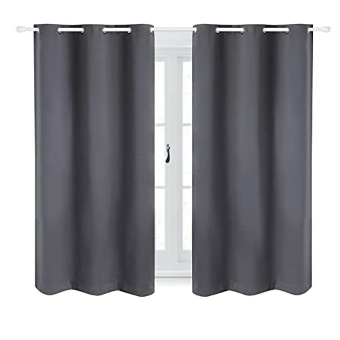 Bedsure 2 Panel Blackout Curtains - 46 X 54ins