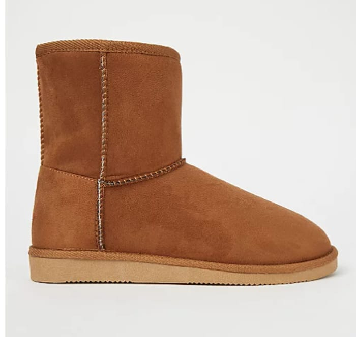 Cheap! Faux Suede Boots Short - £6.40 / Mid Length £8 + Free C&C