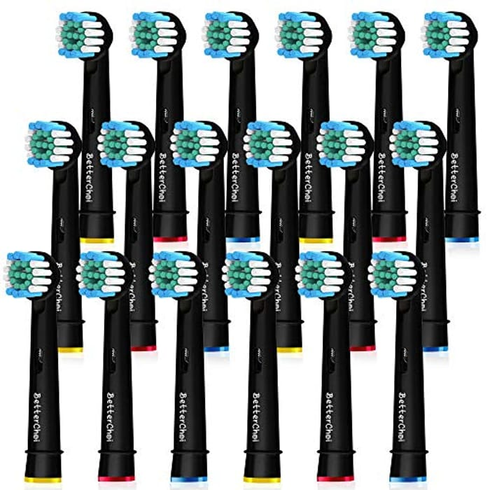 18pcs Oral B Compatible Toothbrush Heads