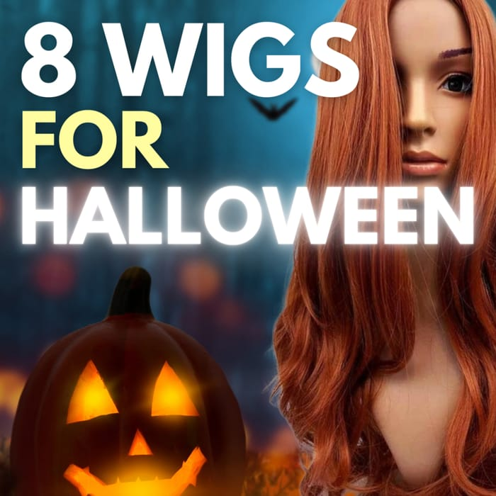 8 Fashion Wigs for Your Halloween Costume - Prices from £13.49