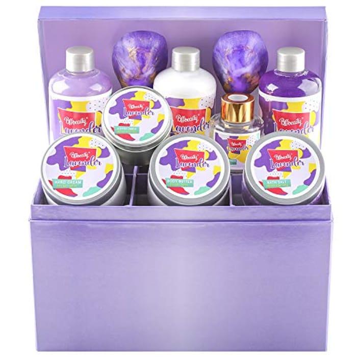 Bff 12 Piece Lavender Beauty Spa Gift Set
