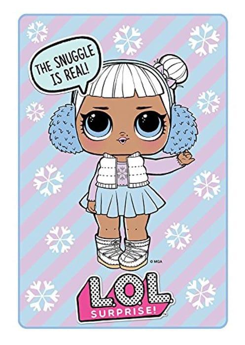 LOL Dolls Fleece Blanket 40% Off!