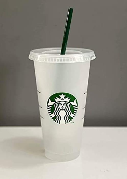 Starbucks Siren Logo Reusable Plastic Cold Cup 24 Fl Oz
