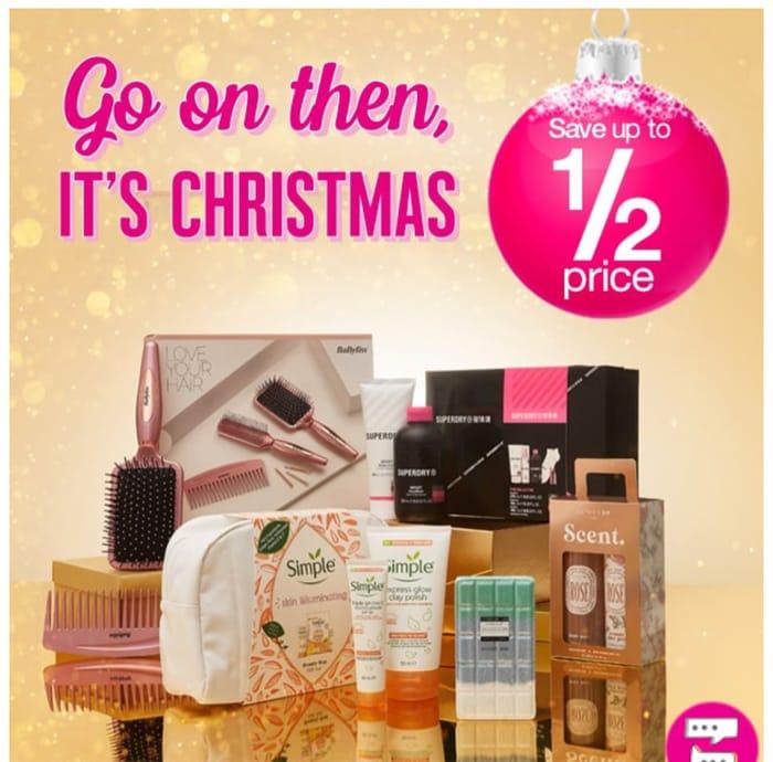 Save Up to 1/2 Price Nivea,Revolution,Dove,Sanctuary Spa,Superdrug Gifts & More