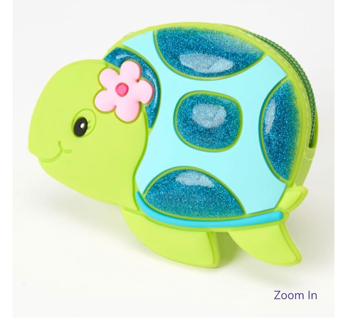 Cheap Tessa the Turtle Jelly Coin Purse, Green - Only £2.7!