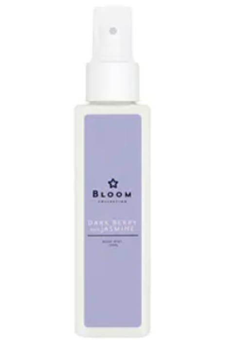 Superdrug Bloom Dark Berry and Jasmine Body Mist 150ml - Only £0.15!
