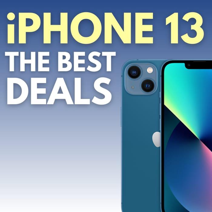 Best iPhone 13 Deals across Different Networks