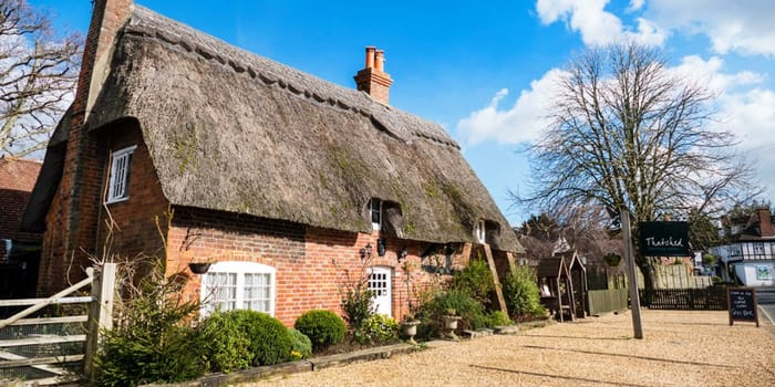 1 Night Grade 2 Listed New Forrest Thatched Cottage Hotel Stay For 2 Inc Gin