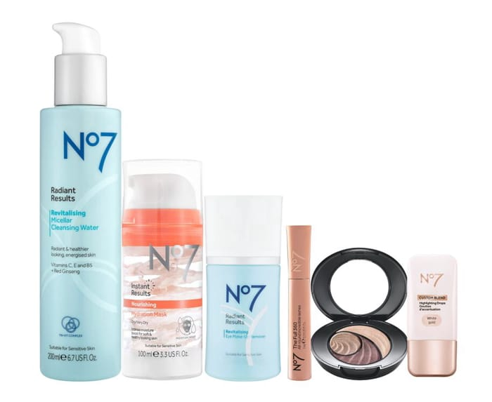 No7 Pick Me up Treat Bundle worth £60 Now with Code £20 Only