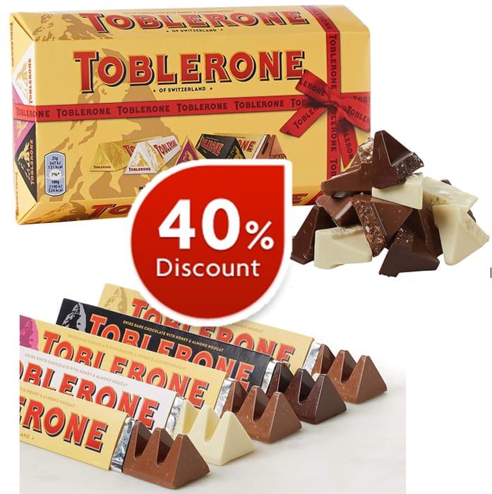 Toblerone Mixed Chocolate 5 Bar Gift Pack - 500g