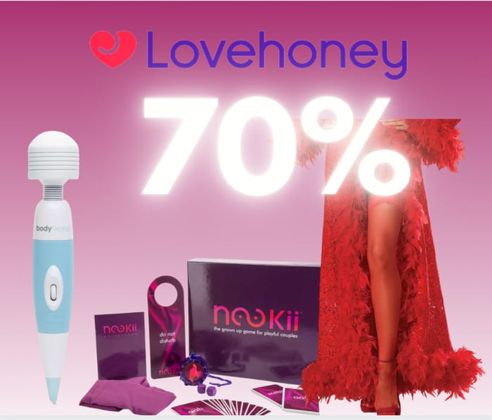 Special Offer! Up to 70% off Sale at Lovehoney