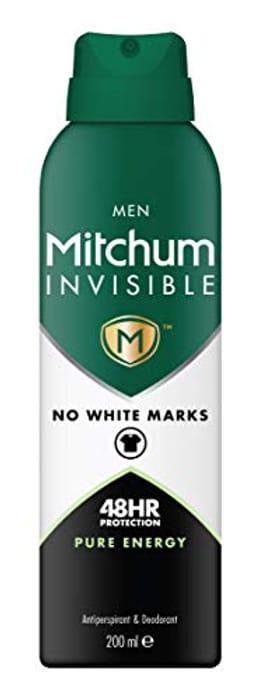 Mitchum Invisible Men 48HR Deodorant & Anti-Perspirant, 200 Ml