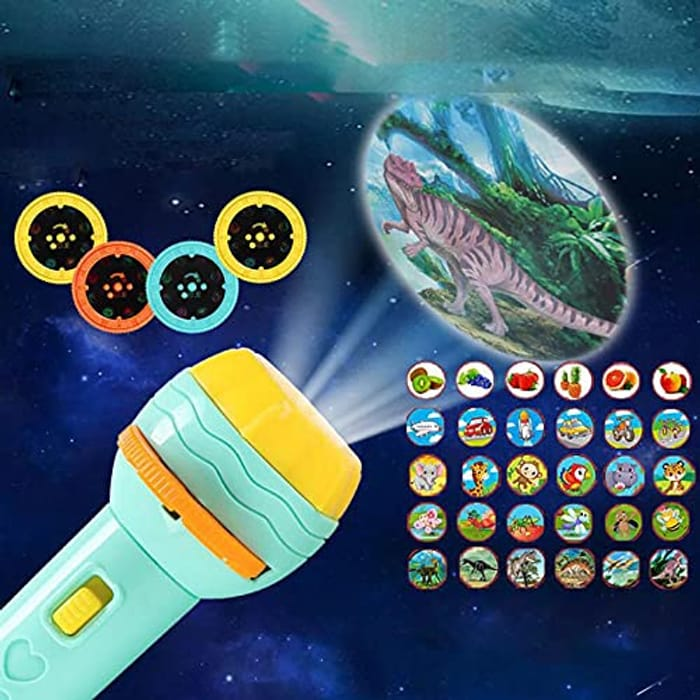 Kids Flashlight Projector with 80 Slides!