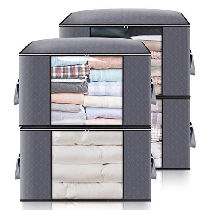 4 Pack Large Capacity Storage Bags