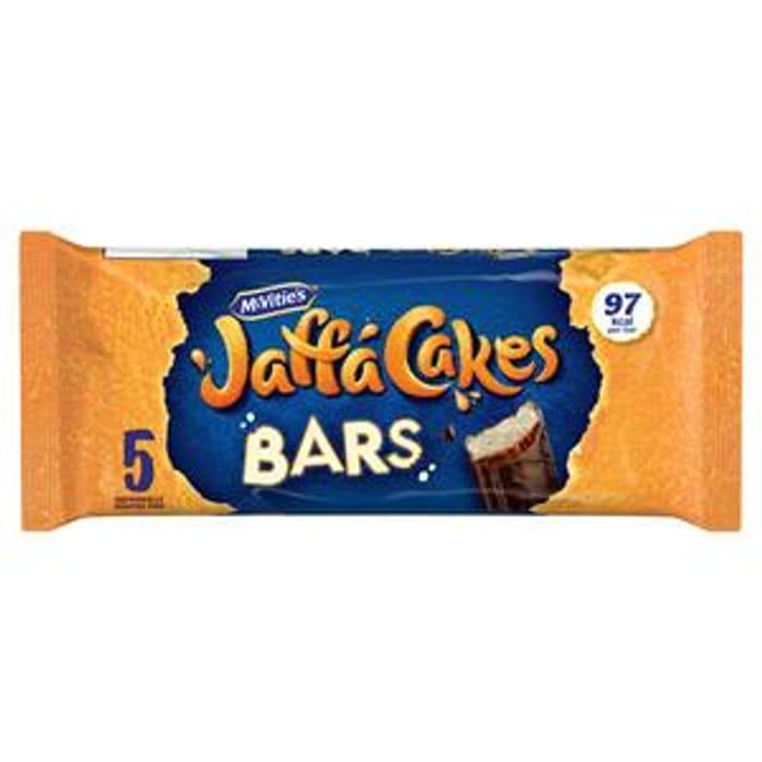 McVitie's Jaffa Cake Bars X5