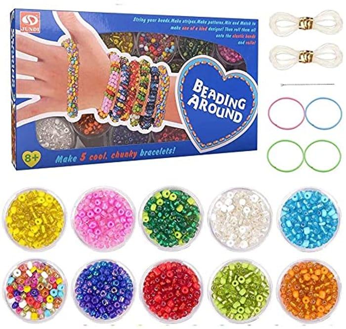 Kuou Friendship DIY Bracelet Craft Kit Forever Friend Children's Art and Crafts