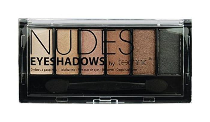 Technic Eye Shadows, Nudes Palette