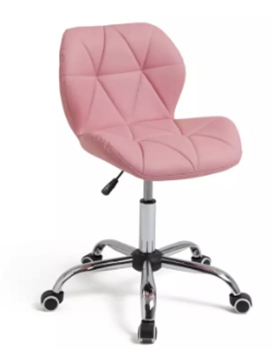 Argos Home Boutique Faux Leather Office Chair - Only £33!