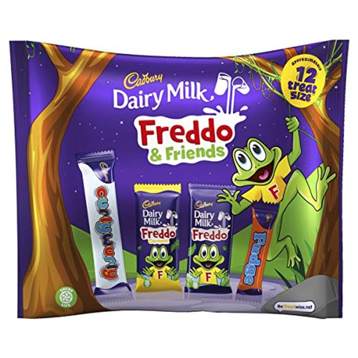 Cadbury Dairy Milk Freddo and Friends Chocolate Pouch, 191g - Only £1.50!