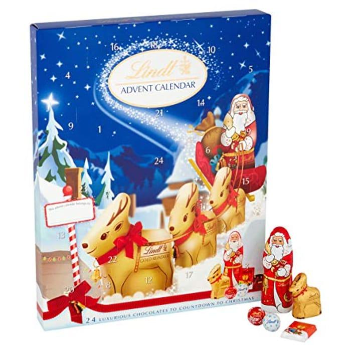 Lindt Chocolate Advent Calendar, 160g
