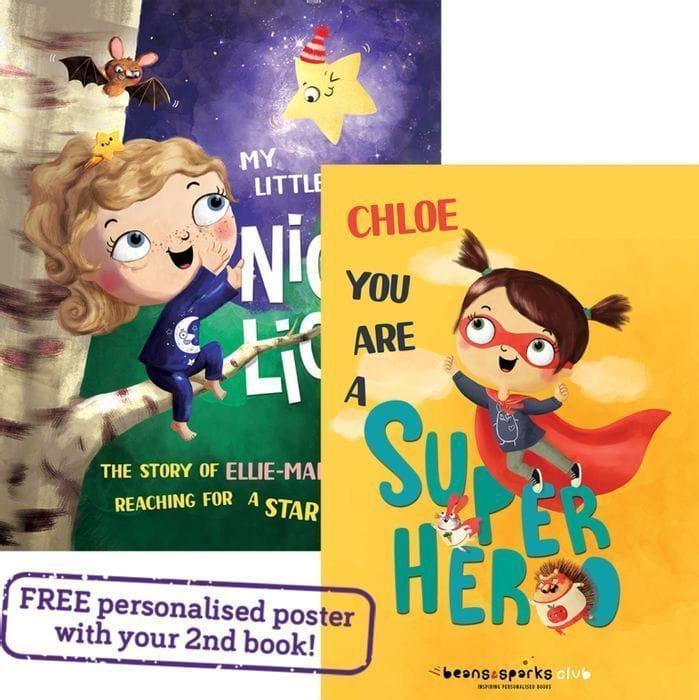 FREE Kids Personalised Book Worth £14.99 (£1.99 P&P)