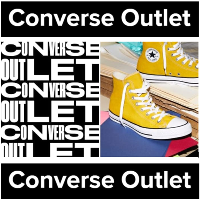 Converse Outlet Deals - Up to 66% OFF