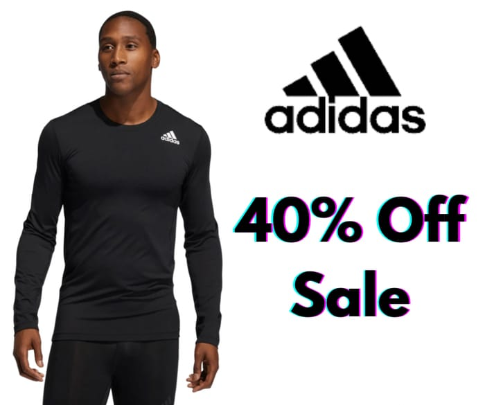 Up to 40% off Sale at Adidas