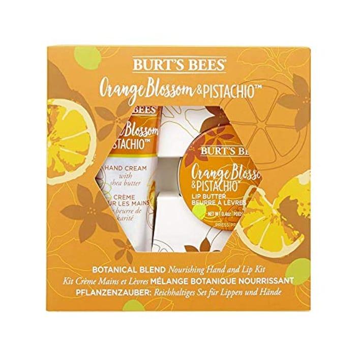Burt's Bees Botanical Blend Nourishing 2 Piece Hand and Lip Kit