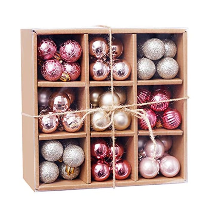 99PCS Christmas Baubles Christmas Ornaments