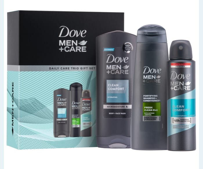 Dove Men+Care Daily Care Trio Gift Set Only £3.99