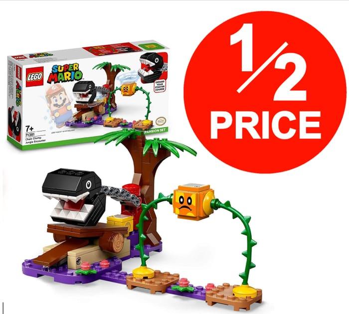 LEGO Super Mario - Chain Chomp Jungle Encounter (71381) HALF PRICE at AMAZON