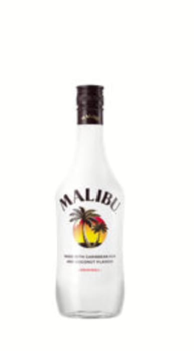 Malibu Caribbean White Rum with Coconut Flavour 70cl
