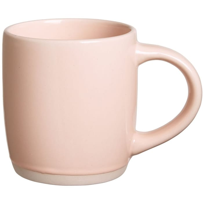 Wilko Biscuit Base Pink Mug