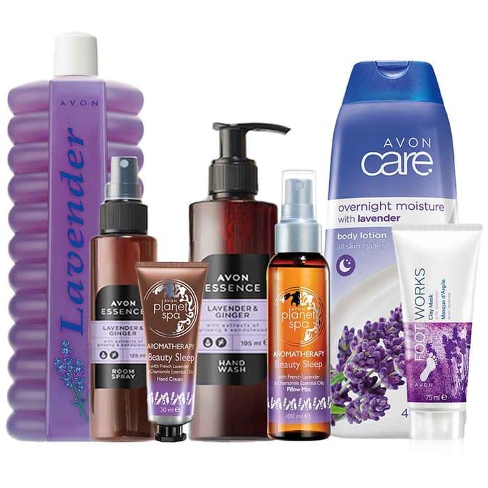 Lavender Pamper Set
