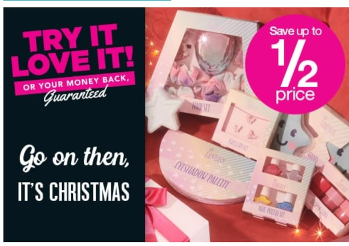 Save up to 1/2 Price on Selected Own Brand Gifts