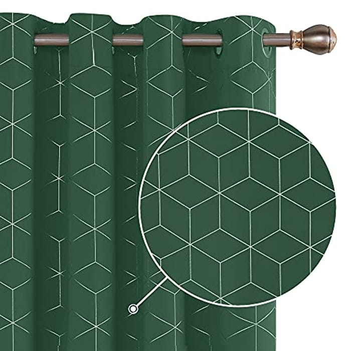 DEAL STACK - Deconovo Thermal Insulated Eyelet Blackout Curtains + 15% Coupon