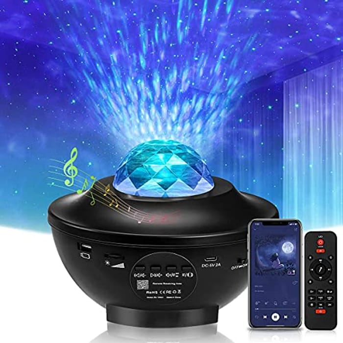 Galaxy Projector Light with Bluetooth Speaker