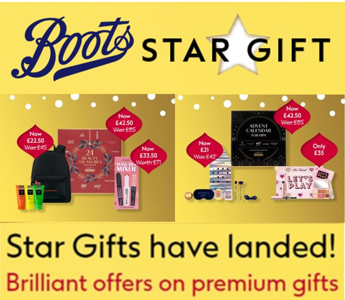 BOOTS STAR GIFTS CHRISTMAS 2021 - Shop Them All!