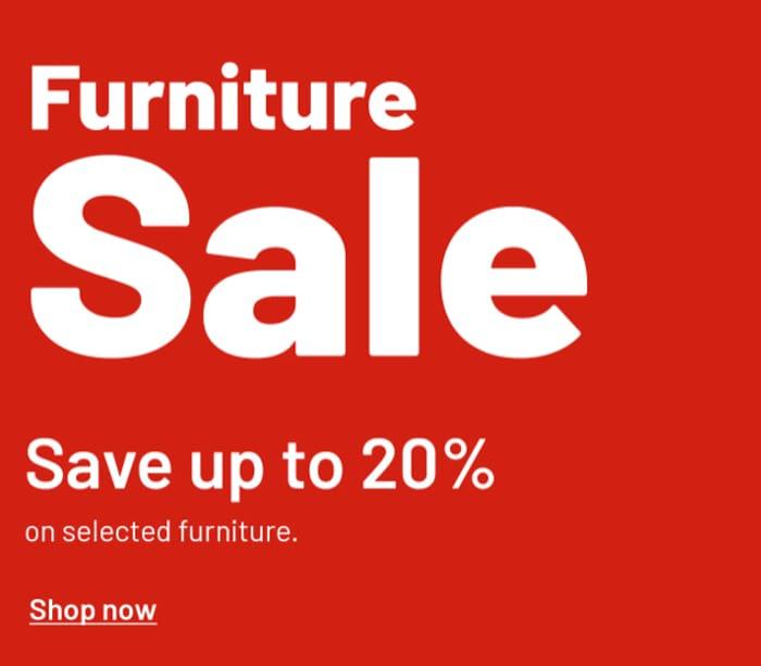 Argos Furniture Sale save Upto 20%